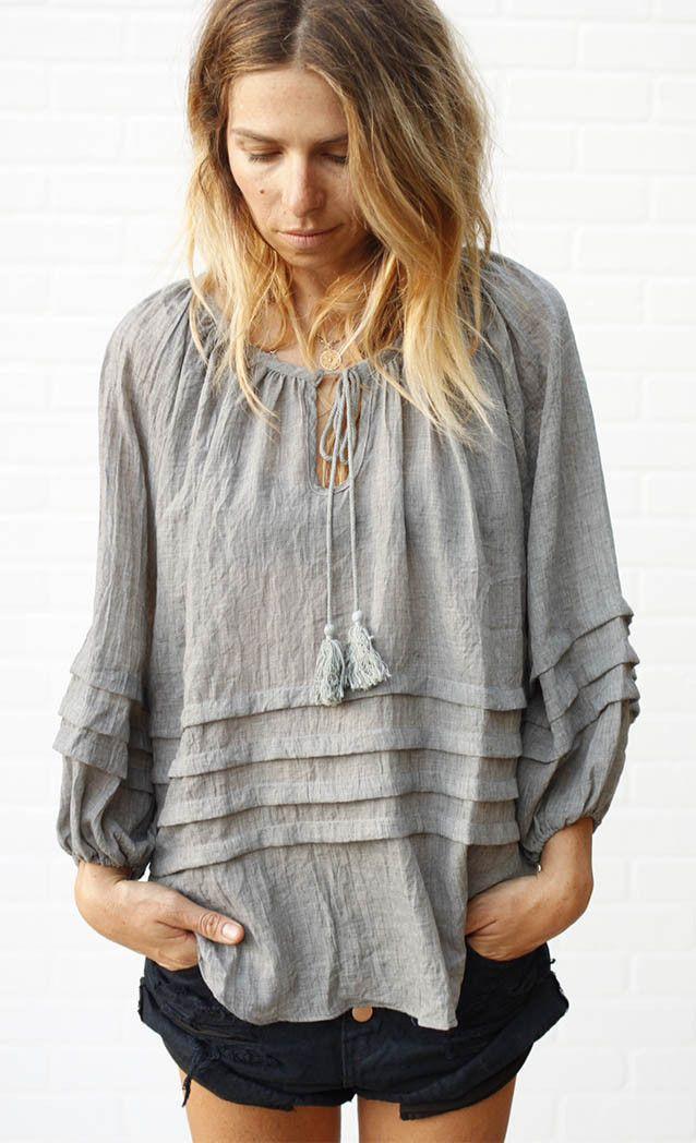 Florence Blouse | grey