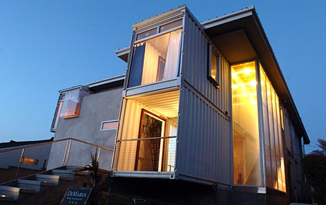 two story shipping container homes pinterest. Black Bedroom Furniture Sets. Home Design Ideas