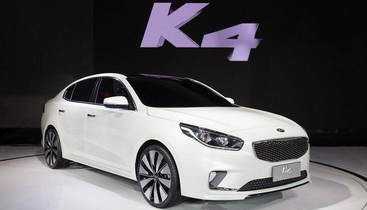 Kia K4 Concept, la berlina de tamaño medio para el Salón de Pekín - http://www.actualidadmotor.com/2014/04/22/kia-k4-concept/