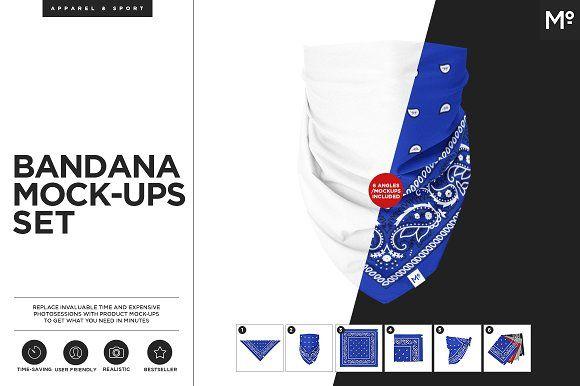 The Bandana Mock Up Mocking Mockup Mockup Design