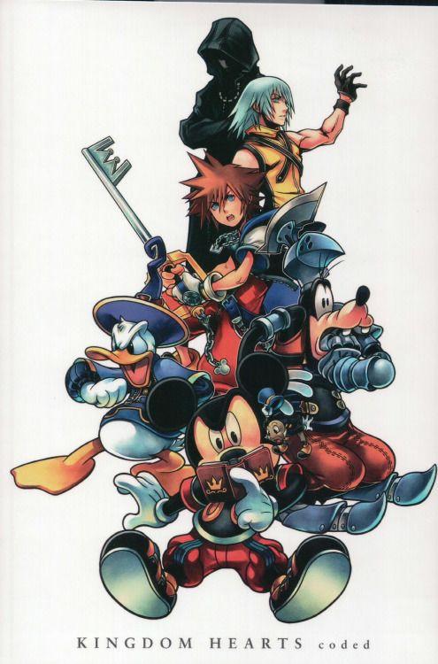 Kingdom Hearts coded                                                                                                                                                                                 Más