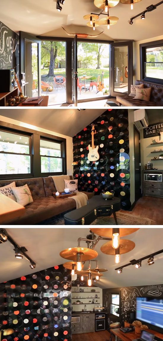 Best 25 Music Man Cave Ideas On Pinterest Music Rooms