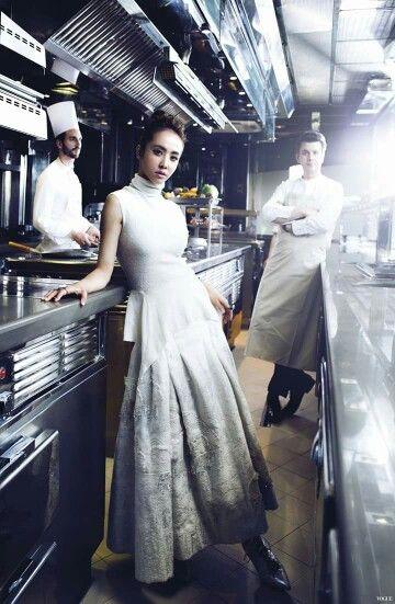 Jolin Tsai by Josh Chang for VOGUE Taiwan.