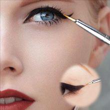 Nouveau crayon cosmétique étanche Eye - Liner maquillage liquide noir Eyeliner ombre Gel maquillage Eyeliner pinceau cosmétique noir(China (Mainland))