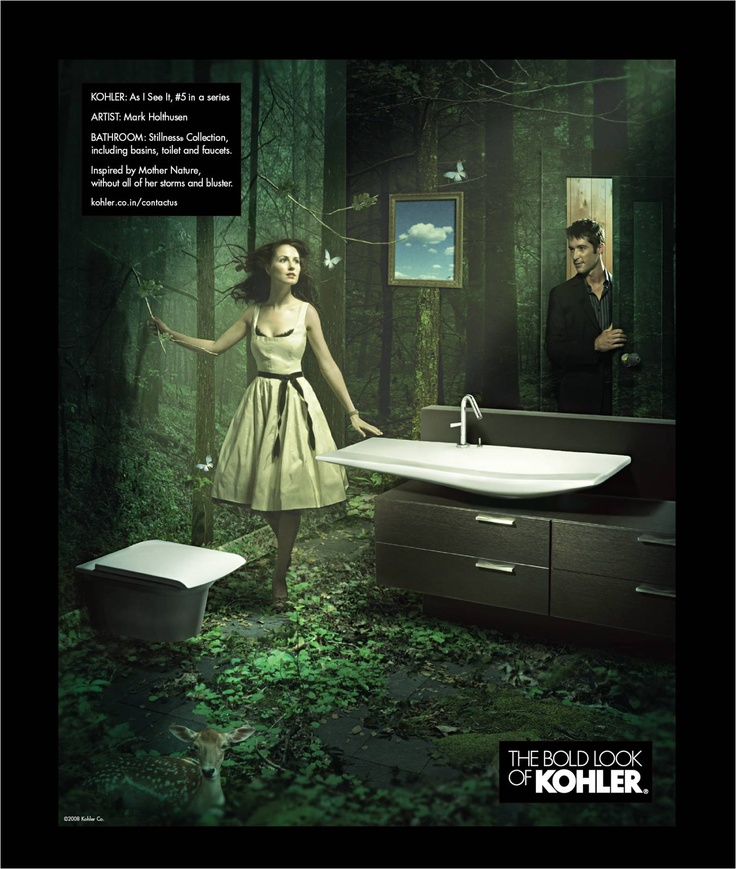 The Bold Look Of Kohler See More Kohler As I See It Campiagn