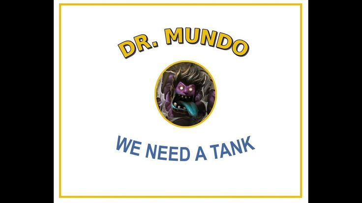 Why you should play Dr Mundo https://www.youtube.com/watch?v=KEVi63u07oU #games #LeagueOfLegends #esports #lol #riot #Worlds #gaming