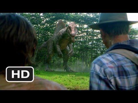 Jurassic Park 3 (7/10) Movie CLIP - The Spinosaurus.