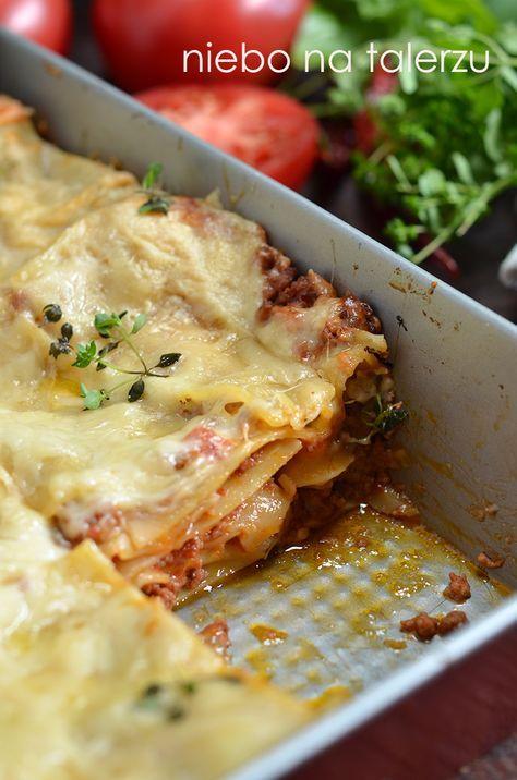 Lazania- pyszne płaty makaronu zapieczone pod mięsno-pomidorowym i beszamelowym sosem. Zawiera w sobie samo najlepsze z włoskiej kuchni. Ory...