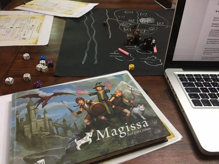 Convierte a tus hijos en elfos o unicornios con 'Magissa' (o cómo montar una partida de rol con tus niños sin haber jugado nunca) | Madre Reciente