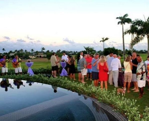 What better way to celebrate hard work and wonderful people than with a completion party! #Kauai #Hawaii
