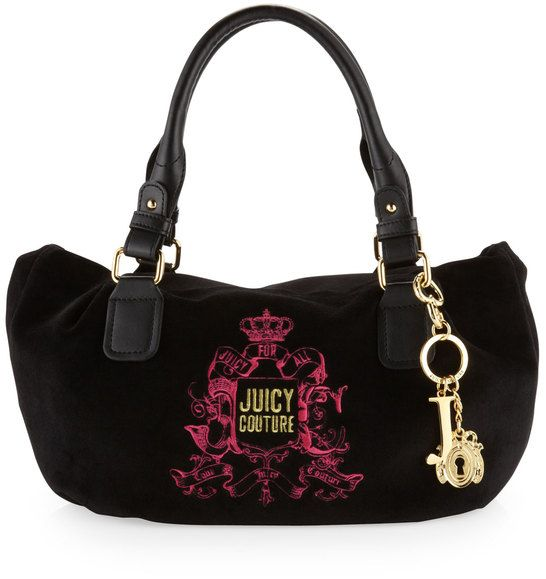 how to clean juicy couture velour purse