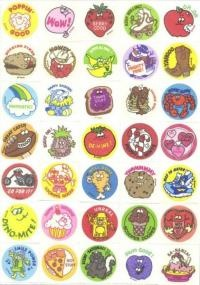 Scratch 'n Sniff stickers  Where can I get some of these?  These things were awesome!
