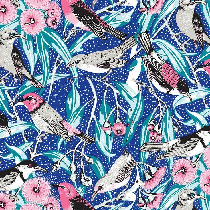 Utopia Goods - Oxford Canvas, Flowering Gum - Tropical