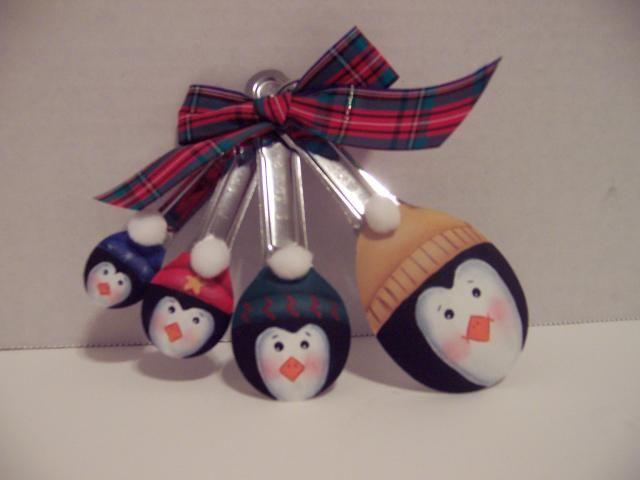 Penguin Spoon Ornaments