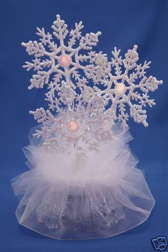 Winter Wonderland Cake Top with lights 403L