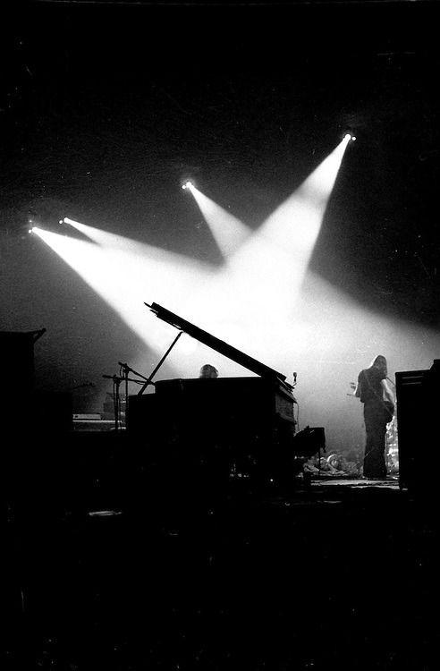 "more-relics:  ""Pink Floyd - Montreal,1973 © Alain Renaud  """