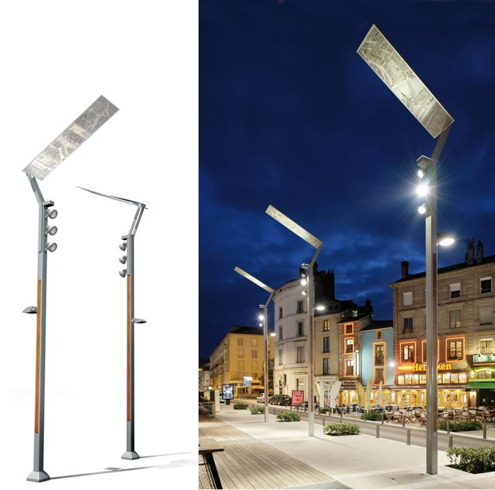Technilum - custom. this project featured graphic panels to show old plans of the city & 76 best Pedestrian Post Tops images on Pinterest | Pedestrian ... azcodes.com