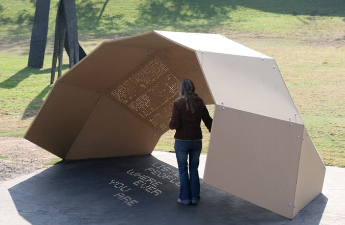 Experiential Typography | One Day Poem Pavilion | Jiyeon Song