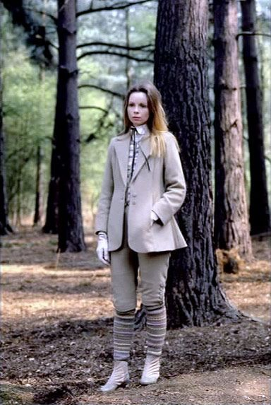 """Romana II in the episode """"State of Decay."""" I don't care which Doctor you are, her suit here is better than any of yours."""