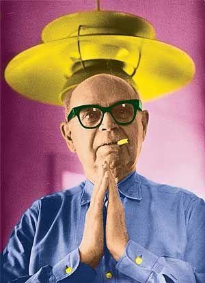Poul Henningsen, designer, author, architect     (*9.9.1894 in Denmark; † 1967 in Hillerød)