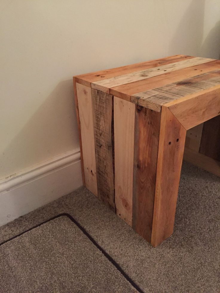 Small side table by ReclaimedrusticsShop on Etsy https://www.etsy.com/uk/listing/471073529/small-side-table