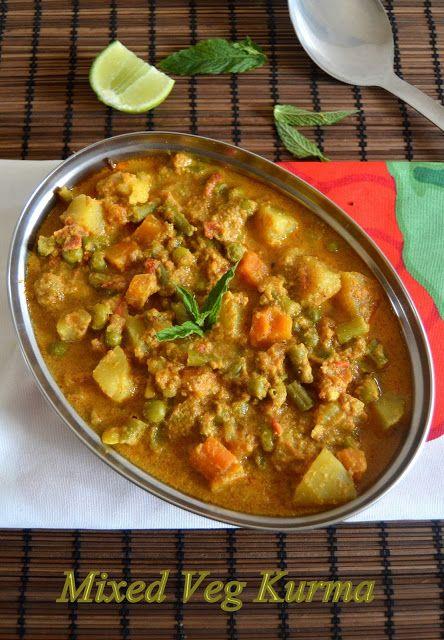 86 best dishes punjabi images on pinterest indian recipes jain mix veg kurma jain recipesindian forumfinder Images