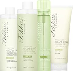 Fekkai | Brilliant Glossing Shine Renewing Hair Formulas: Try the shampoo and conditioner - you won't regret it.