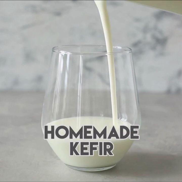 Selbst gemachter Kefir   – Kefir milk benefits