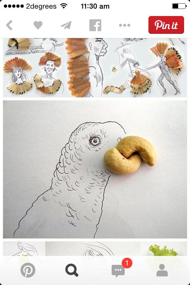 Nut drawing