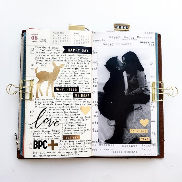 Week 35 in my traveler's notebook using @maggiehdesign paper and stickers from @theinkroad shop!  Use code MOVING for 60% off any order!  Also see fellow roadies @rapowell @faithandsparkles @abstractinspiration @ohdessa