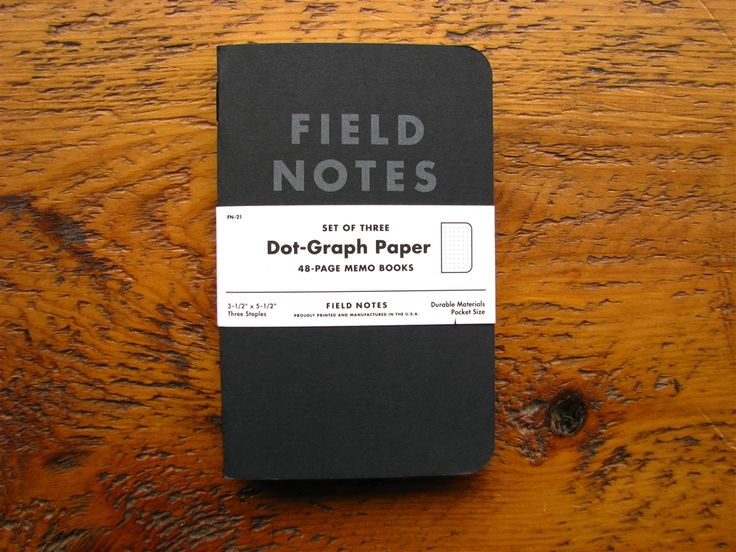 Best idea pads ever from the mega force of nature that is Aaron Draplin @draplindesignco  https://fieldnotesbrand.com/