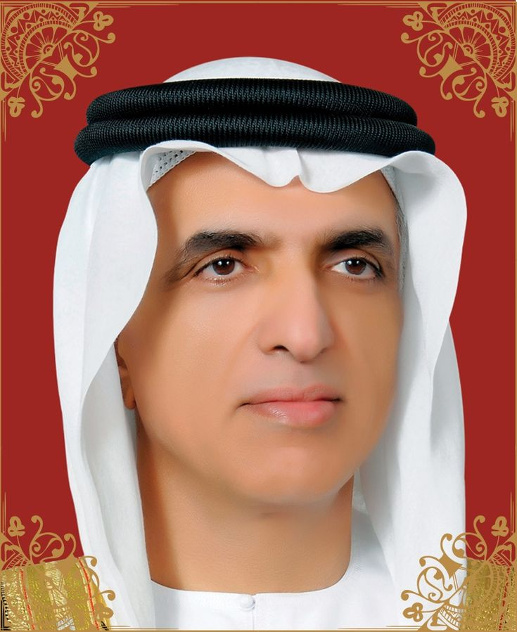 His Highness Sheikh Saud bin Saqr al Qassimi , ruler of the Emirate Ras Al Khaimah. He was raised and received his early education in Ras Al Khaimah , until he graduated from high school , then went to USA to continue his higher education . He joined the University of Michigan , where he studied Economics and Political Science . After finishing his higher education in 1979
