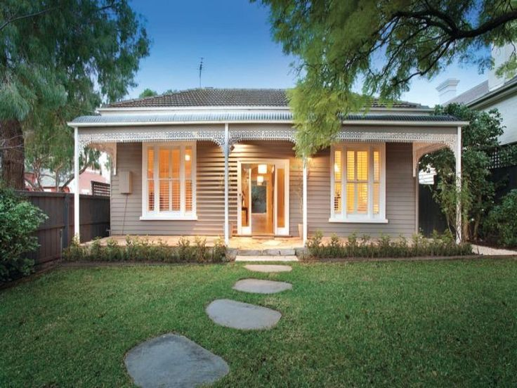 Photo of a weatherboard house exterior from real Australian home - House Facade…