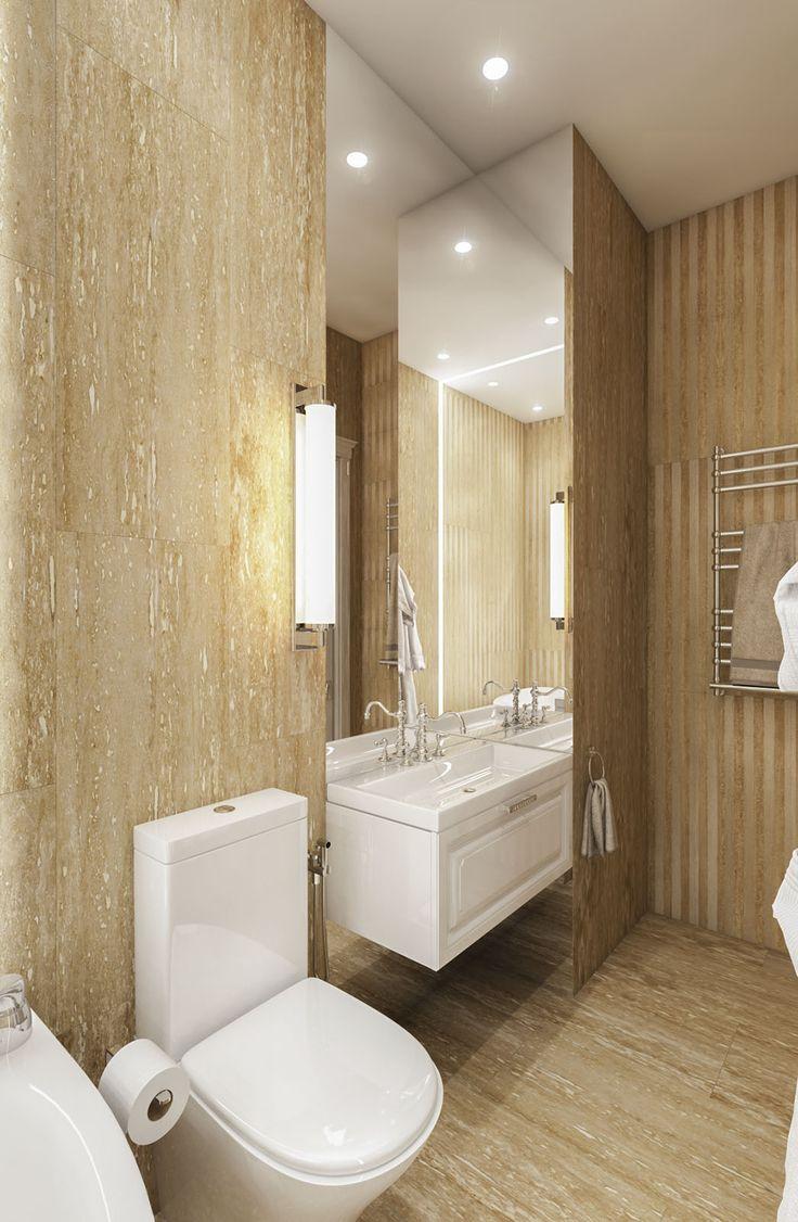 Дизайн апартаментов ЖК Balchug Residence. Прачечная. Вид 1  #аркси #arxy #дизайнинтерьера #элитныйинтерьер #дизайнквартиры #ванная