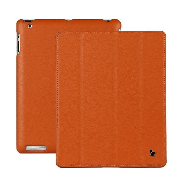 Jisoncase Luxury Smart Case For iPad 4 3 2 Cover Magnetic Stand Leather Auto Wake up/Sleep Cover For iPad