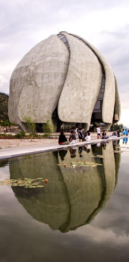 Bahá'í House of Worship for South America  More photos: http://callechile.blogspot.cl/2016/12/bahai-temple.html #Bahai #BahaiTemple