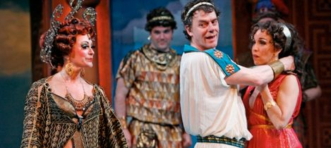 'The Comedy of Errors', an early play by W.S. - seen at Stratford-upon-Avon (Royal Shakespeare Co.) 2000, at the Stratford Festival (Canada), 1994 (w. Tom McCamus & Stephen Ouimette as the twins) & in 2007 (w. twins Bruce Dow & David Snelgrove). The latter received quite mixed reviews).