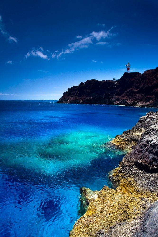 Punta de Teno, isla de Tenerife, Islas Canarias, España.