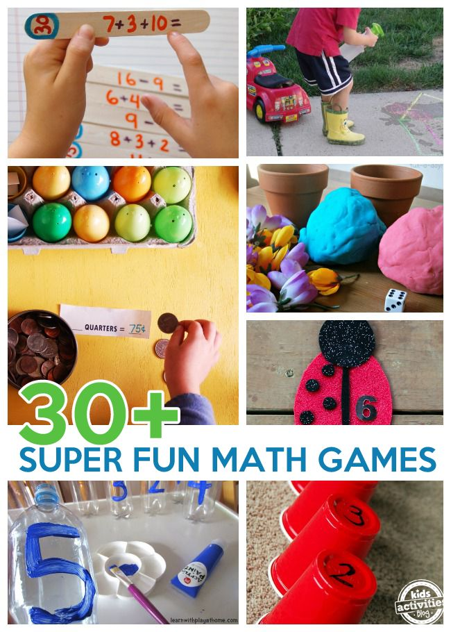 30 Super Fun Math Games