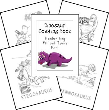 Free Creation Based Dinosaur Unit Study