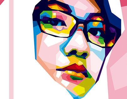 """Check out new work on my @Behance portfolio: """"Dhina - WPAP Version"""" http://be.net/gallery/33119805/Dhina-WPAP-Version"""