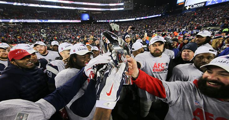 Fans can pose beside the Patriots 2016 Lamar Hunt Trophy Saturday through Monday with admission to The Hall at Patriot Place presented by Raytheon.