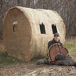 8 Best Redneck Hay Bale Blinds Images On Pinterest Duck