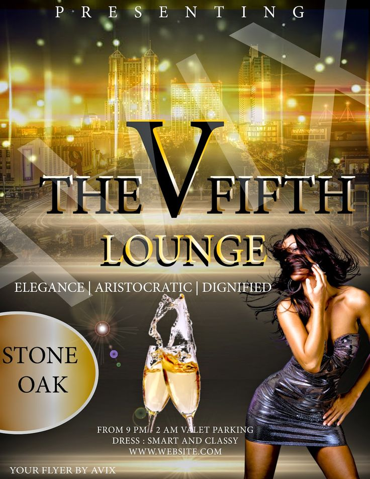 AVIX Graphic and Web Development: New Upscale Lounge/Bar in Stone Oak San AntonioFLY...