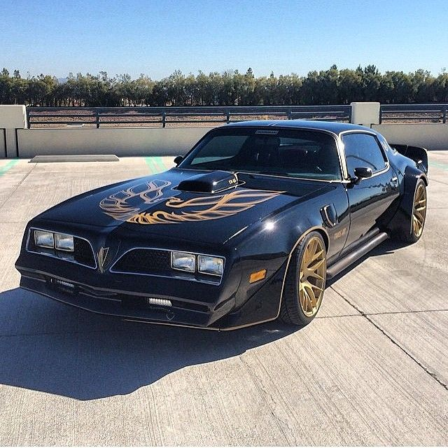 """This is one badass '79 Trans Am ('78 nose) that's powered by a twin turbo LS…"