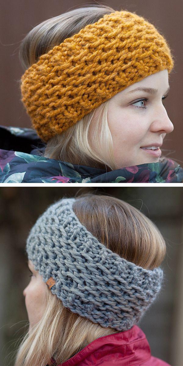 Basic Knit Ear Warmer
