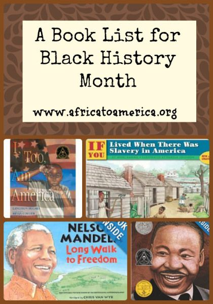 Black history is filled with stories of courage, strength, and determination. The picture books below provide the perfect way to explore these important stories with your children.