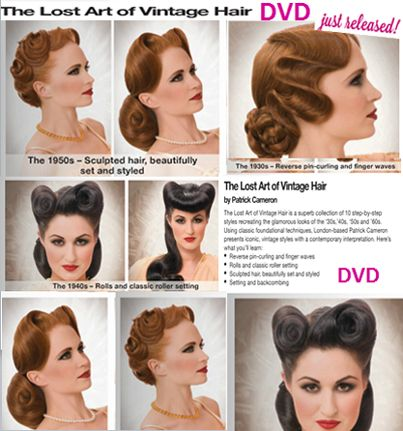 13 best Vintage Hair images on Pinterest | Braids, Haircut styles ...