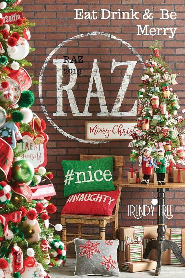 2019 Raz Christmas Tree Inspiration Christmas Tree Inspiration Raz Imports Christmas Trees Raz Imports Christmas