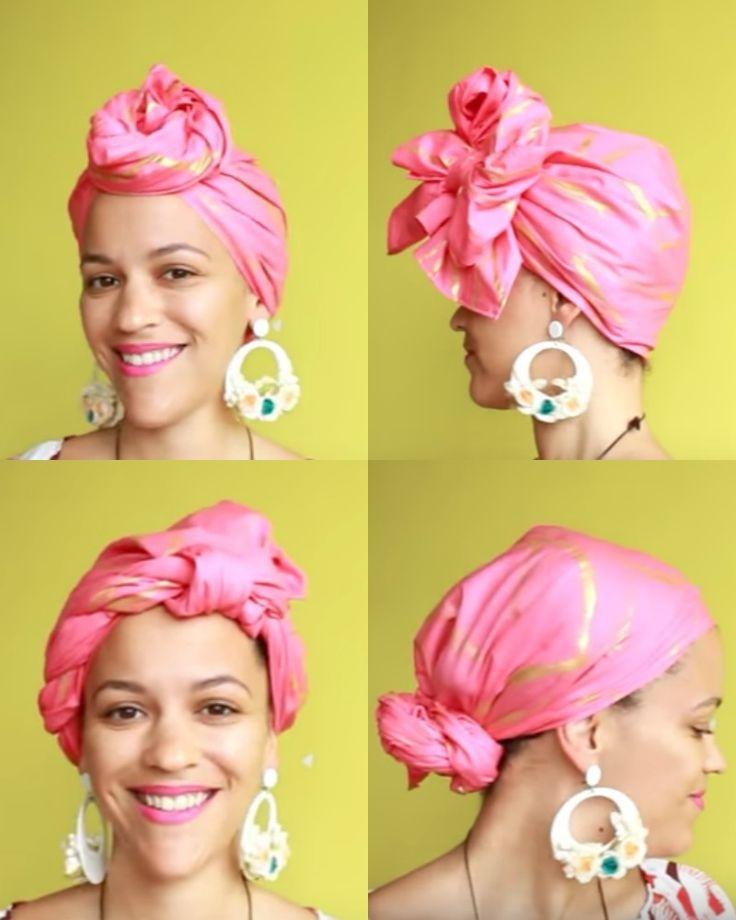 Pink Chocolate Gold Headwrap/Turban #pinktober